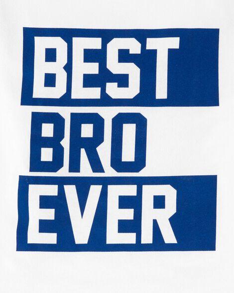 T-shirt en jersey Best Bro Ever