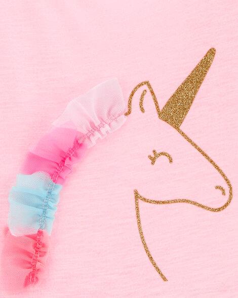 Glitter Unicorn Tutu Jersey Dress