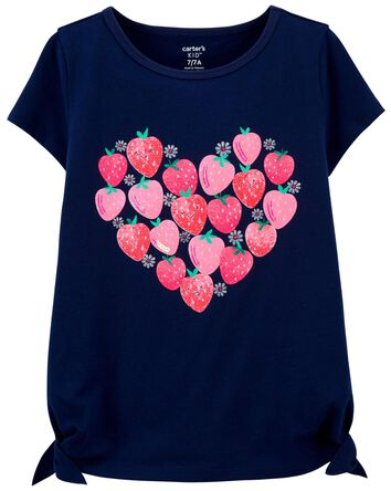 Strawberry Jersey Tee