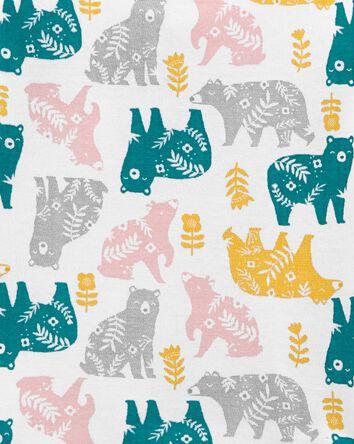 4-Piece Animals 100% Snug Fit Cotto...