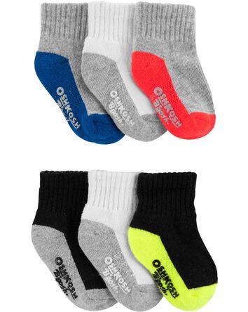 6 paires de chaussettes basse de sp...