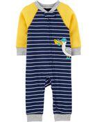1-Piece Seagull Snug Fit Cotton Footless PJs, , hi-res