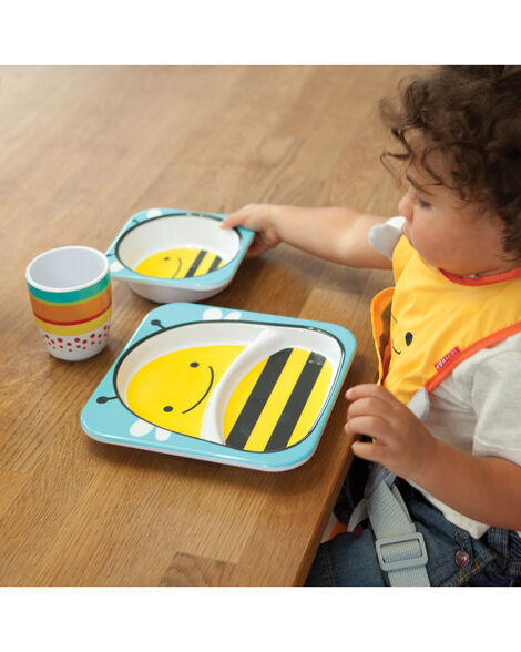 Zoo Little Kid Plate
