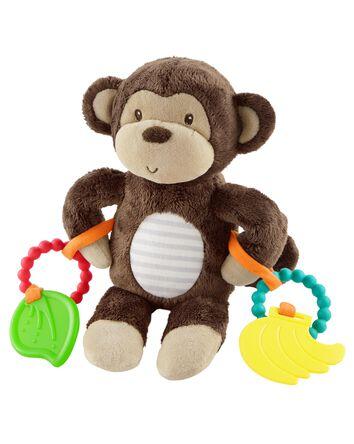 Monkey Activity Teething Toy