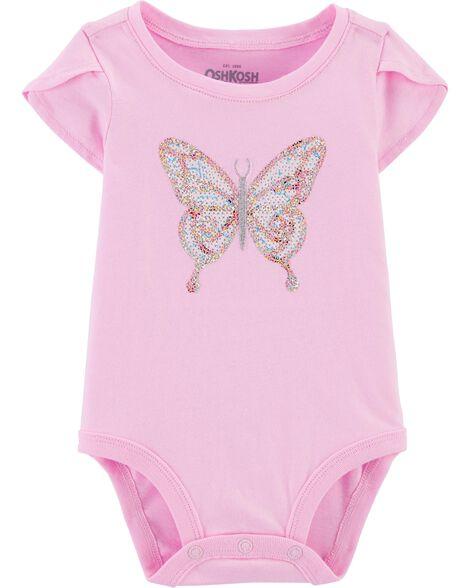Sequin Butterfly Bodysuit