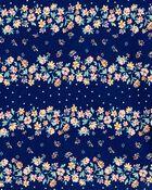 Floral Stripe Tie-Sleeve Top, , hi-res