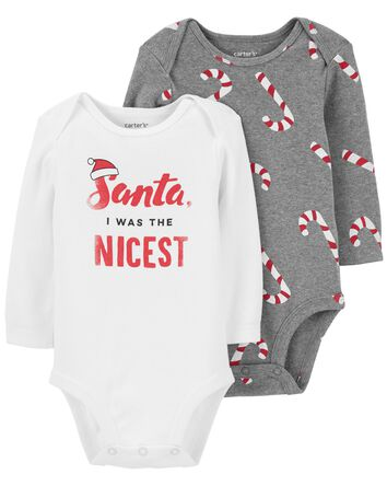 2-Pack Holiday Collectible Bodysuit...