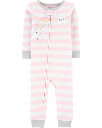 1-Piece Cloud Snug Fit Cotton Footl...