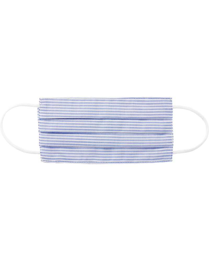 Striped Face Mask, , hi-res