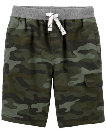 Camo Easy Pull-On Shorts