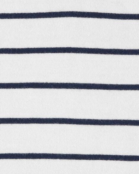 Striped Hooded Romper