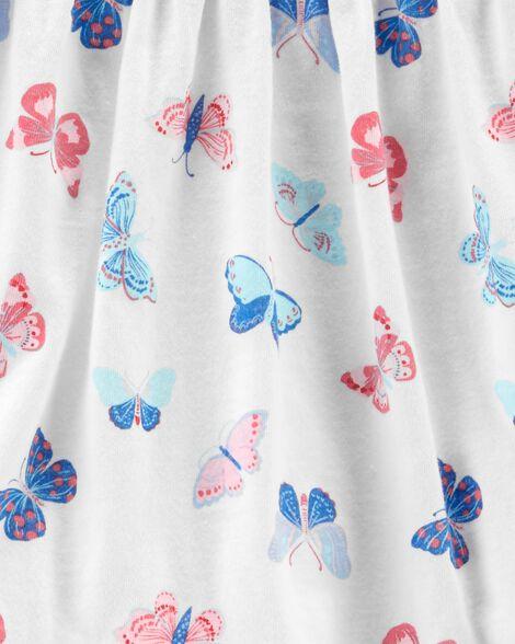 Ensemble 2 pièces robe à papillons et legging