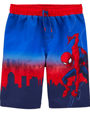 Spider-Man Swim Trunks