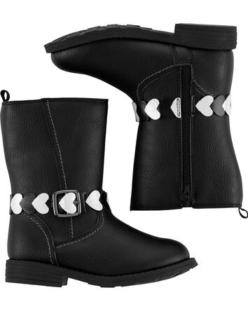 Heart Riding Boots
