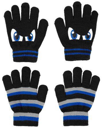 KOMBI 2-Pack Big Eyes Mini Gloves S...
