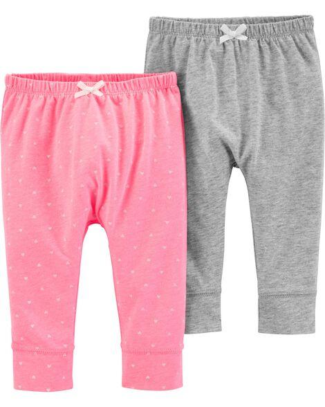 2-Pack Bubble Pants