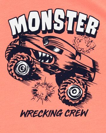 Haut sans manches à camion monstre