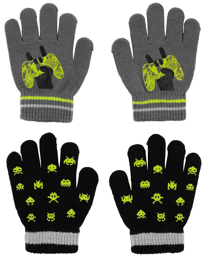 Emballage de 2 paires de mini gants jeux vidéo KOMBI, , hi-res