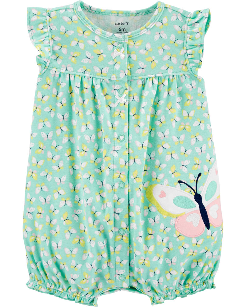 Butterfly Snap-Up Romper, , hi-res