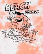 T-shirt teint sur nœuds à requin, , hi-res