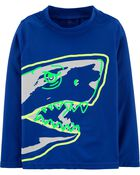 Shark Rashguard, , hi-res