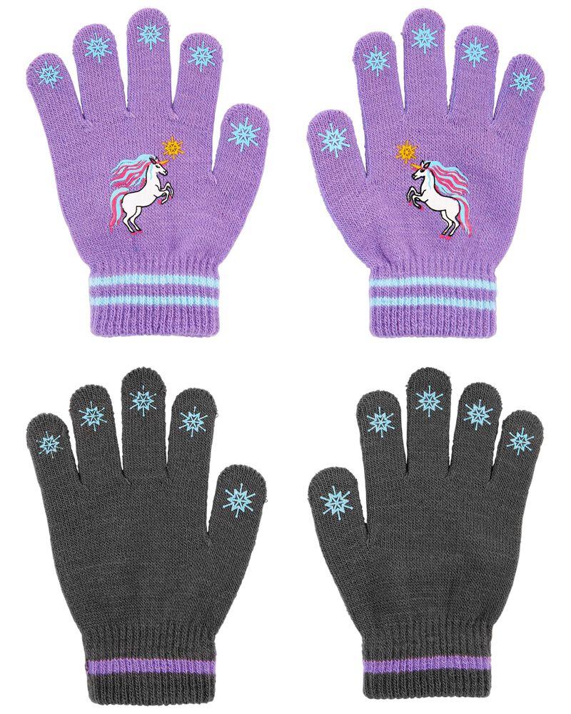 KOMBI 2-Pack Unicorn Mini Glove Set, , hi-res