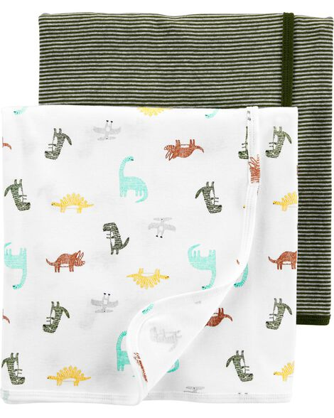 2-Pack Baby Blankets