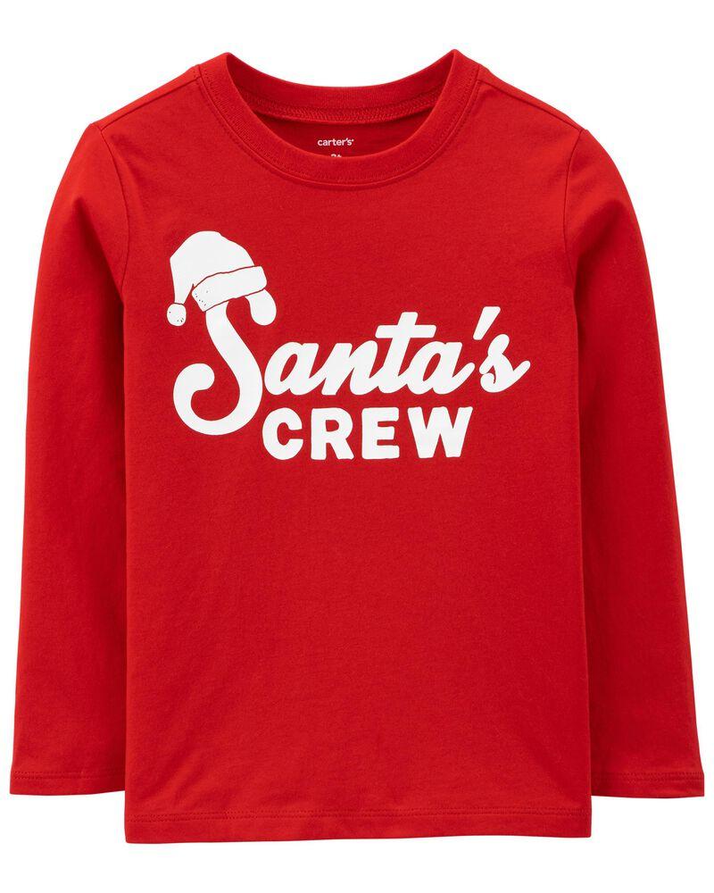 Santa's Crew Jersey Tee, , hi-res