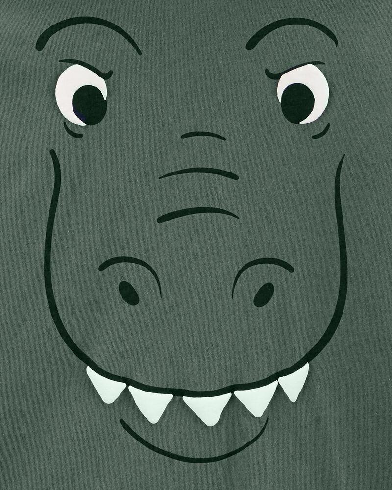 Dinosaur Jersey Hooded Tee, , hi-res