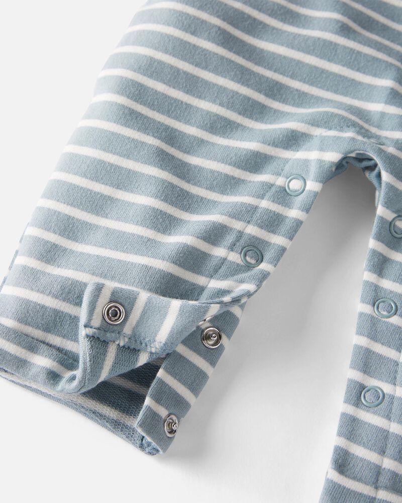 Organic Cotton Terry Jumpsuit, , hi-res