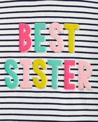Ensemble 2 pièces t-shirt à capuchon Best Sister et legging, , hi-res