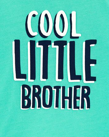T-shirt en jersey Lil Bro Jersey Te...