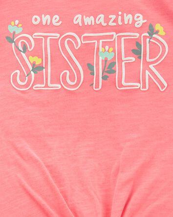 2-Piece Sister Jersey Tee & Short S...