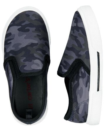 Dinosaur Slip-On Shoes