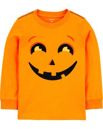 Halloween Jack-O-Lantern Jersey Tee