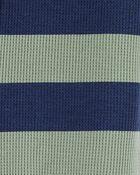 1-Piece Striped 100% Snug Fit Cotton Footie PJs, , hi-res