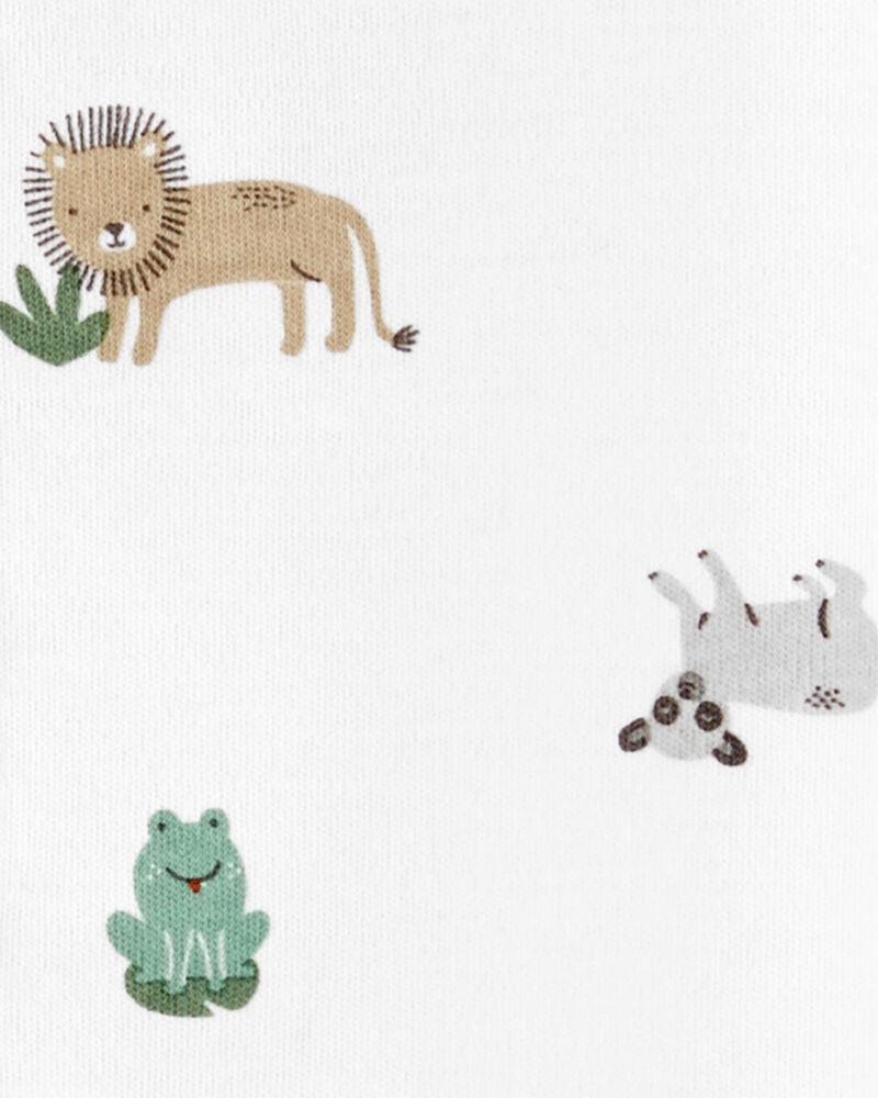 Animals Snap-Up Cotton Sleep & Play, , hi-res
