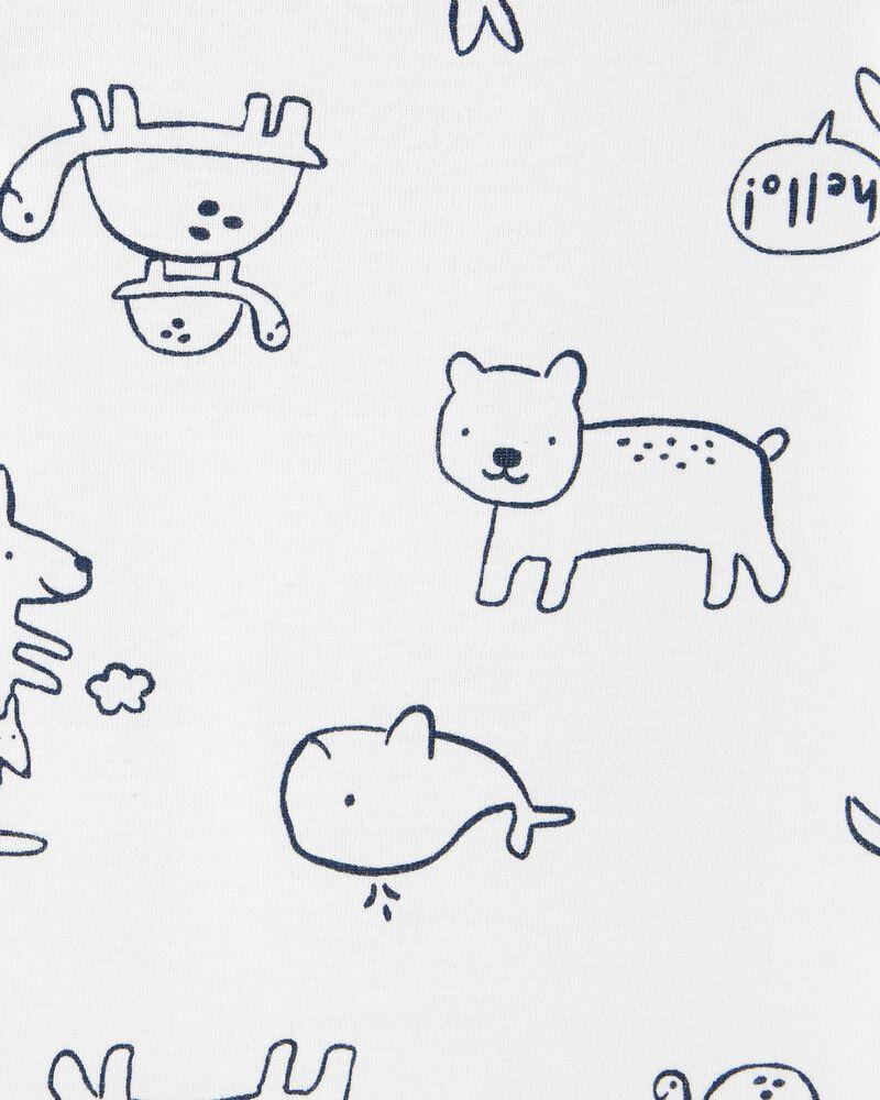 3-Piece Animals Little Jacket Set, , hi-res