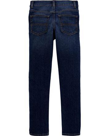 Jeans extensible déchiré - coupe fu...