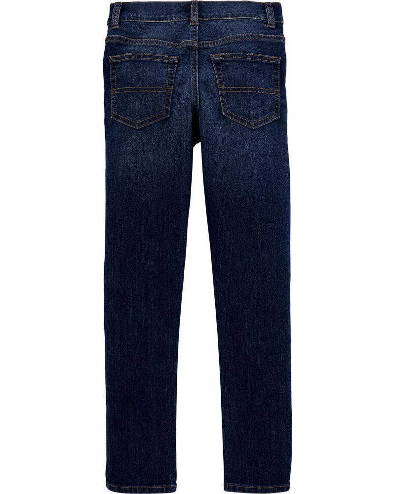 Jeans extensible déchiré - coupe fuseau, , hi-res