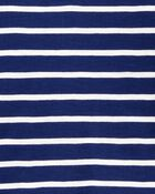 Striped Slub Jersey Henley, , hi-res