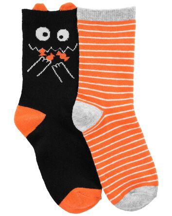 2-Pack Halloween Crew Socks