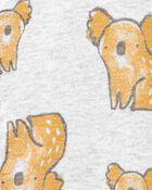Grenouillère à boutons-pression en coton certifié biologique Koala, , hi-res