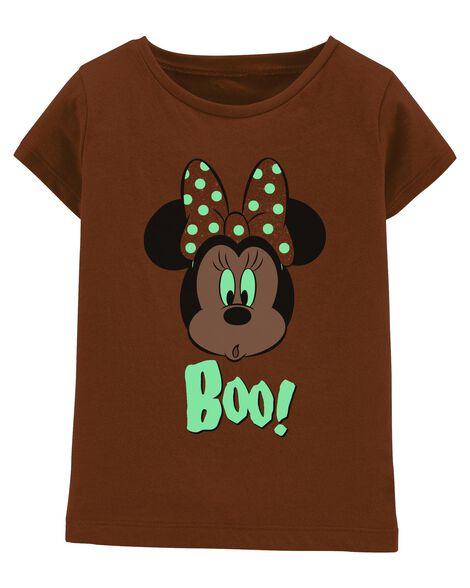 Glow Halloween Minnie Mouse Tee