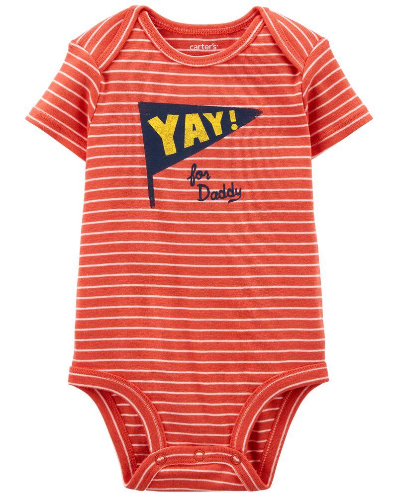 Yay Daddy Original Bodysuit, , hi-res