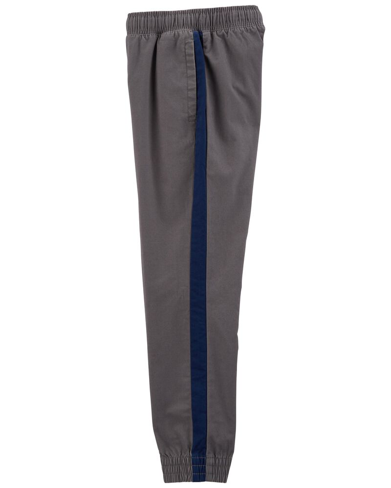 Easy Pull-On Twill Pants, , hi-res
