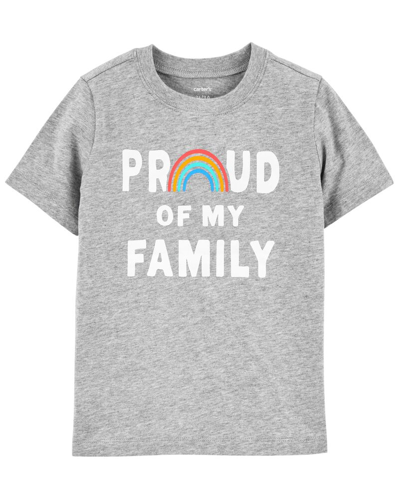 T-shirt en jersey Family Pride, , hi-res