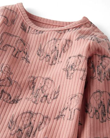2-Pack Organic Cotton Rib Bodysuits