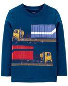 T-shirt en jersey Camions, , hi-res