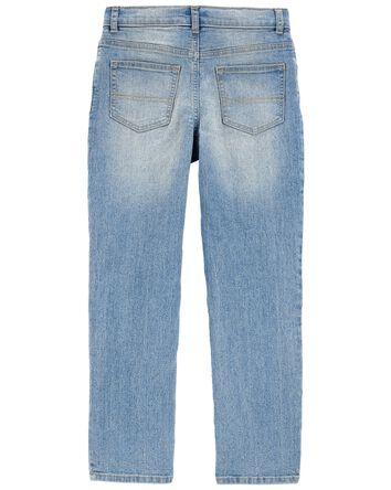 Jeans extensible déchiré - coupe ét...